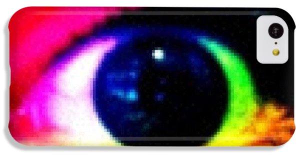 Bright iPhone 5c Case - Eye by Lea Ward
