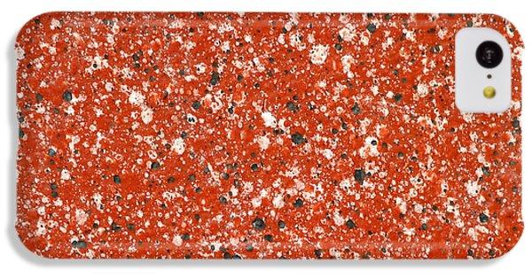 Fake Granite IPhone 5c Case by Henrik Lehnerer