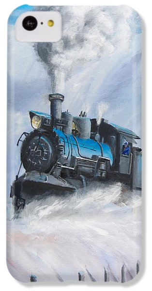 First Train Through IPhone 5c Case by Christopher Jenkins