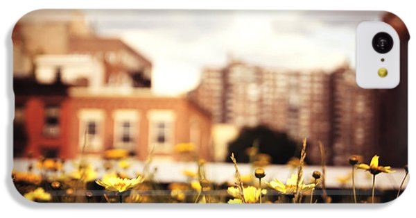Flowers - High Line Park - New York City IPhone 5c Case by Vivienne Gucwa