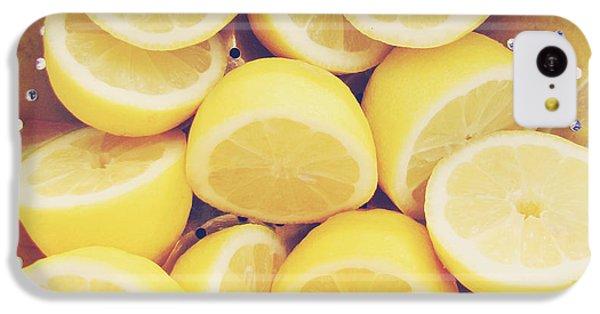 Fresh Lemons IPhone 5c Case by Amy Tyler