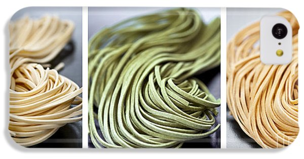 Fresh Tagliolini Pasta IPhone 5c Case by Elena Elisseeva