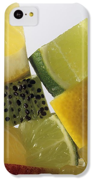 Fruit Squares IPhone 5c Case by Veronique Leplat