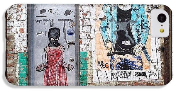 Summer iPhone 5c Case - Graffiti Artist by Randy Lemoine