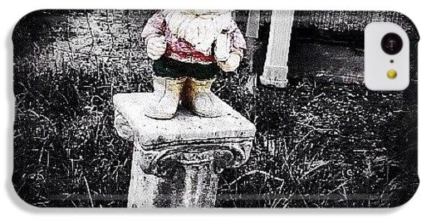 Ohio iPhone 5c Case - Greenville's Garden Gnome by Natasha Marco