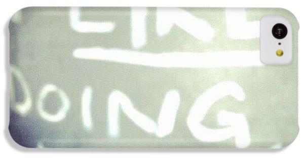 Follow iPhone 5c Case - I Like Doing #nothing #lazy #student by Abdelrahman Alawwad