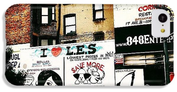 I Love The Lower East Side - New York City IPhone 5c Case