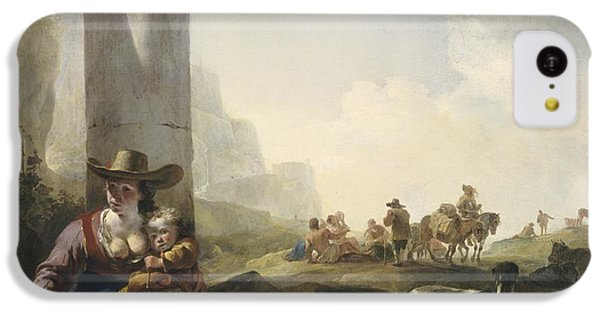 Italian Peasants Among Ruins IPhone 5c Case by Jan Weenix
