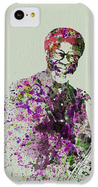 Saxophone iPhone 5c Case - Joe Henderson Watercolor  by Naxart Studio