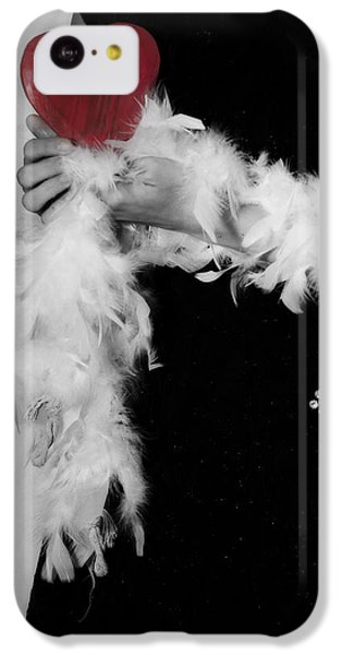 Lady With Heart IPhone 5c Case by Joana Kruse