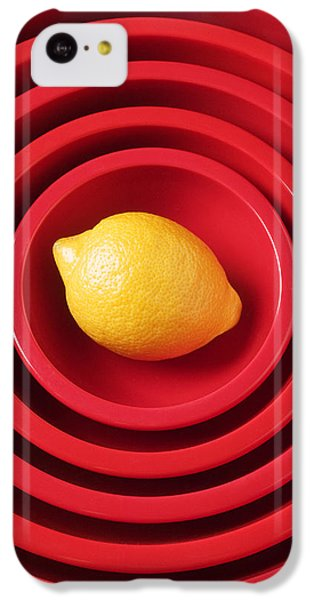 Lemon In Red Bowls IPhone 5c Case