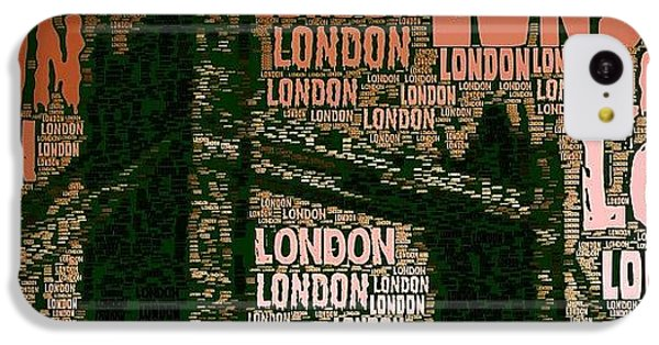 #london Just London IPhone 5c Case