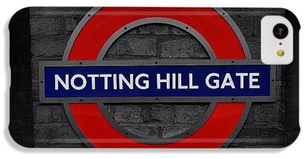 #london #nottinghillgate #underground IPhone 5c Case