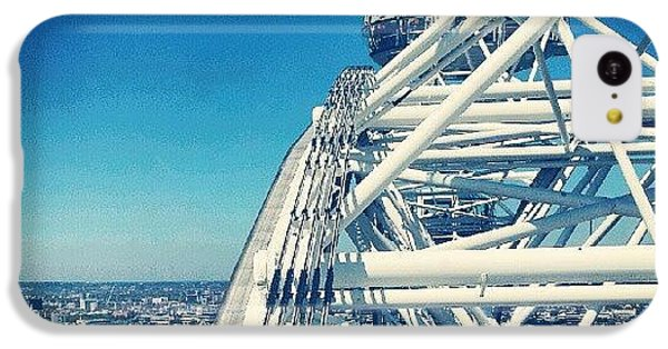 #londoneye #sky #clouds #high #london IPhone 5c Case