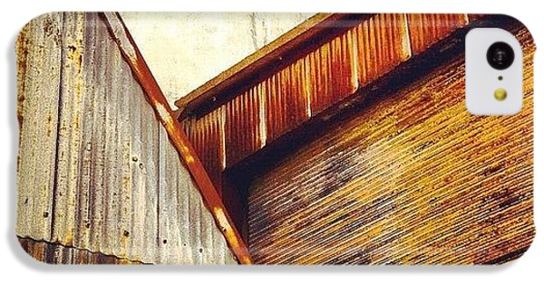 Architecture iPhone 5c Case - Looking Up by Julie Gebhardt