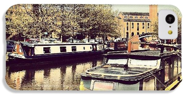 Classic iPhone 5c Case - #manchester #manchestercanal #canal by Abdelrahman Alawwad