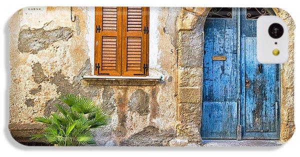 Mediterranean Door Window And Vase IPhone 5c Case