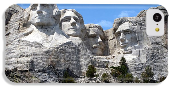 Lincoln Memorial iPhone 5c Case - Mount Rushmore Usa by Olivier Le Queinec