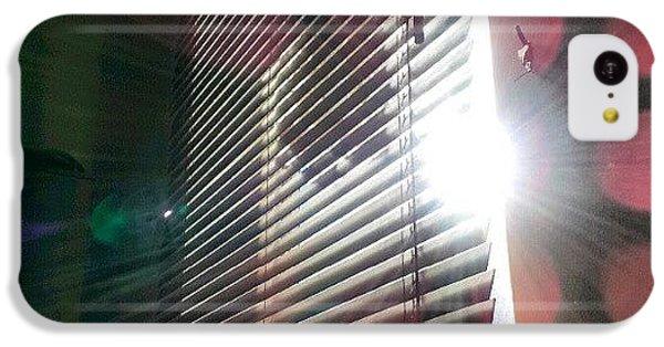 Follow iPhone 5c Case - My #window In #morning #sunshine #sun by Abdelrahman Alawwad