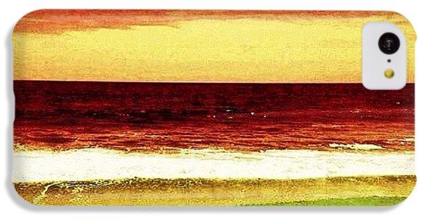 Beautiful iPhone 5c Case - #myrtlebeach #ocean #colourful by Katie Williams