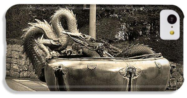 Dragon iPhone 5c Case - Nikko Fountain by Naxart Studio