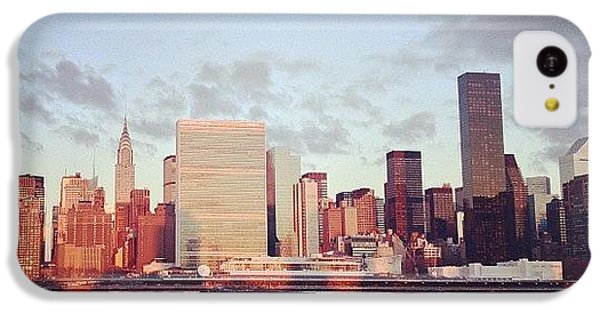 City iPhone 5c Case - Nyc Sunrise by Randy Lemoine
