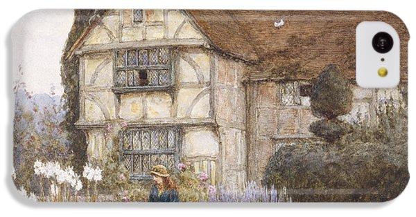Garden iPhone 5c Case - Old Manor House by Helen Allingham