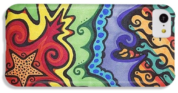 Cool iPhone 5c Case - Original #sharpie Art ! From by Mandy Shupp