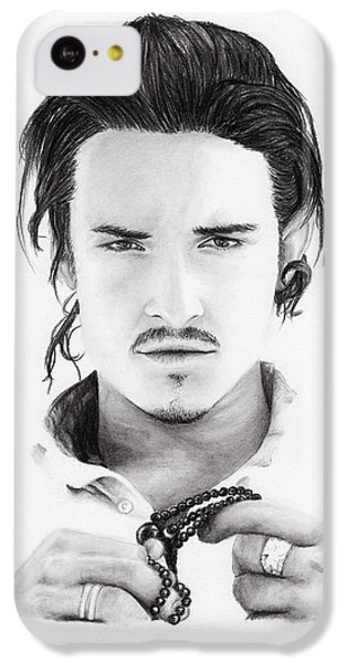 Orlando Bloom IPhone 5c Case by Rosalinda Markle