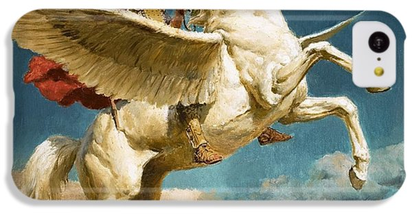 Pegasus The Winged Horse IPhone 5c Case by Fortunino Matania
