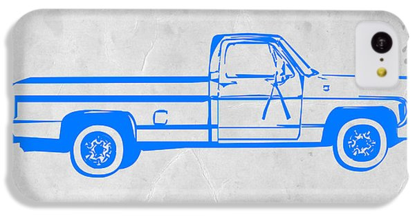Landmarks iPhone 5c Case - Pick Up Truck by Naxart Studio