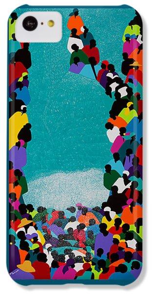 iPhone 5c Case - Pilgrimage Saut D'eau by Synthia SAINT JAMES