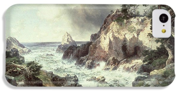 Point Lobos At Monterey In California IPhone 5c Case by Thomas Moran