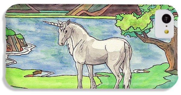 Prehistoric Unicorn IPhone 5c Case