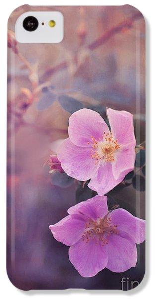 Prickly Rose IPhone 5c Case by Priska Wettstein