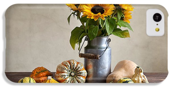 Pumpkins And Sunflowers IPhone 5c Case