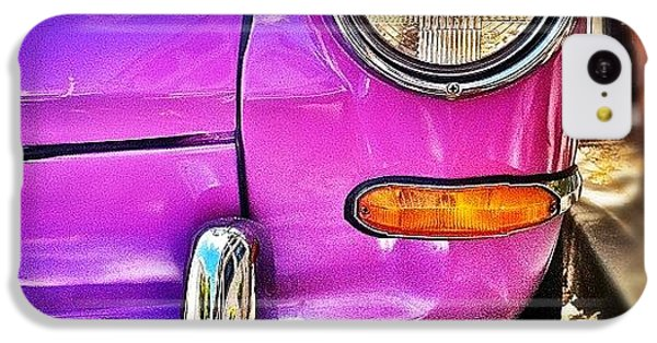 Purple Vw Bug IPhone 5c Case