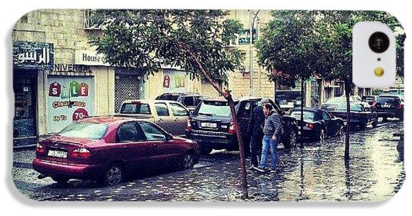 Classic iPhone 5c Case - Rainbow Street #amman #jo #jordan by Abdelrahman Alawwad