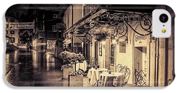#rainy #cafe #classic #old #classy #ig IPhone 5c Case