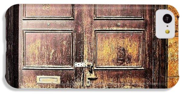Classic iPhone 5c Case - Random Door In Liverpool Streets by Abdelrahman Alawwad