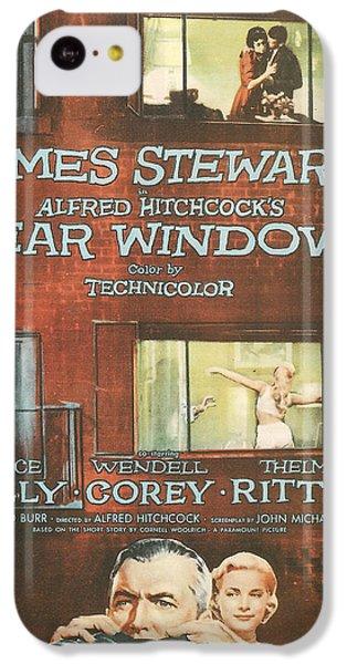 Rear Window IPhone 5c Case by Georgia Fowler