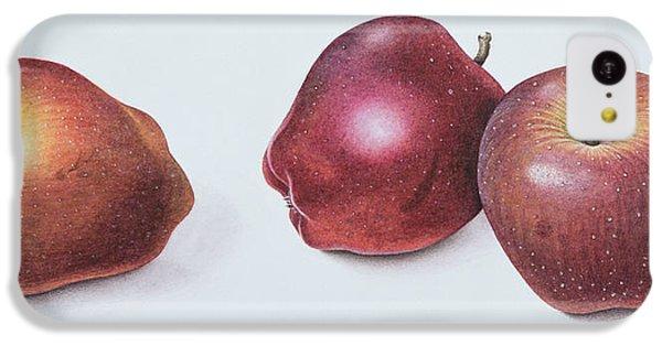 Red Apples IPhone 5c Case