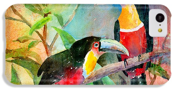 Red-breasted Toucans IPhone 5c Case by Arline Wagner