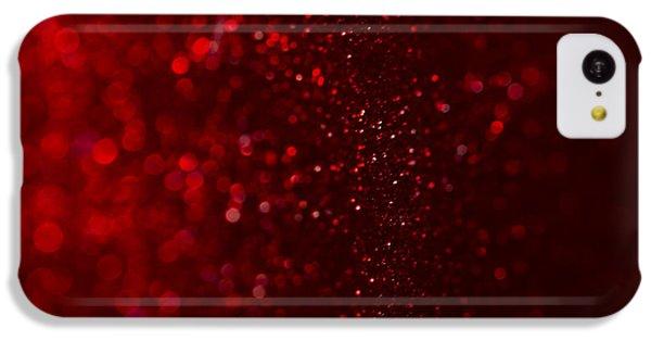 Red Sparkle IPhone 5c Case