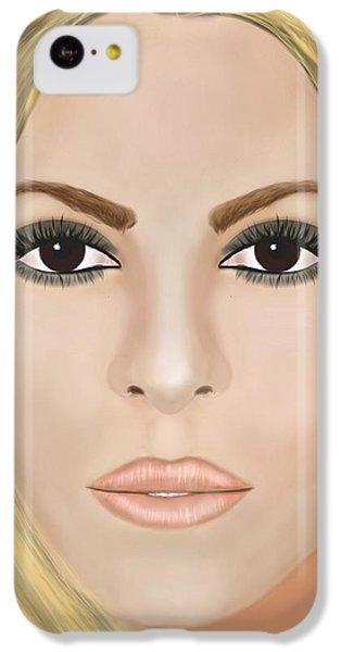 Shakira iPhone 5c Case - Shakira by Mathieu Lalonde