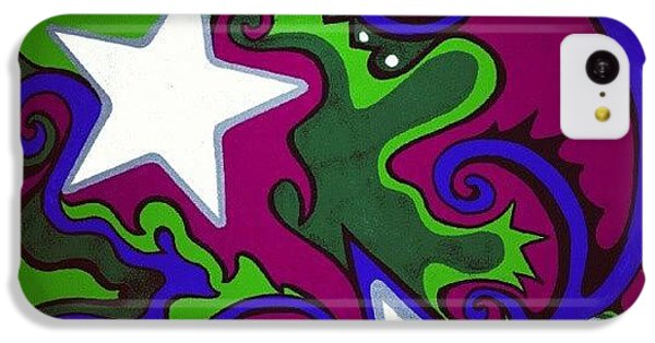 Colorful iPhone 5c Case - #sharpie Art #sharpiesquad2012 by Mandy Shupp