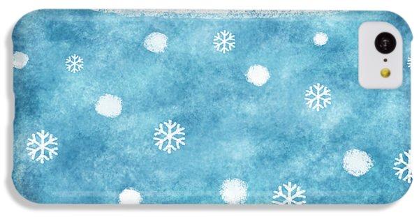 Snow Winter IPhone 5c Case by Setsiri Silapasuwanchai