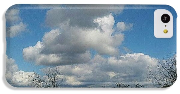 Sky iPhone 5c Case - Soft And Fluffy by Abbie Shores