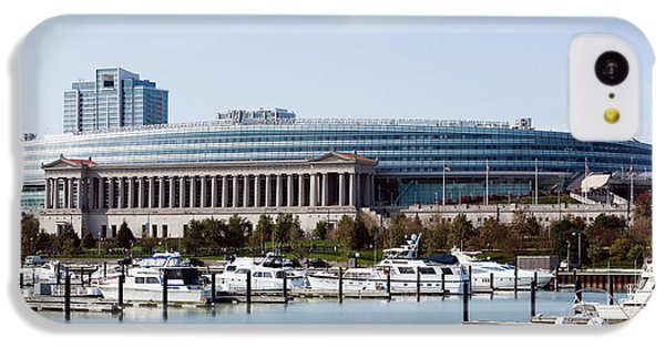 Soldier Field Chicago IPhone 5c Case by Paul Velgos