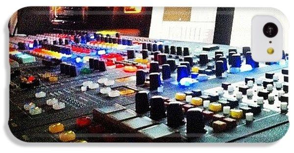 Bright iPhone 5c Case - Sound Board by Lea Ward